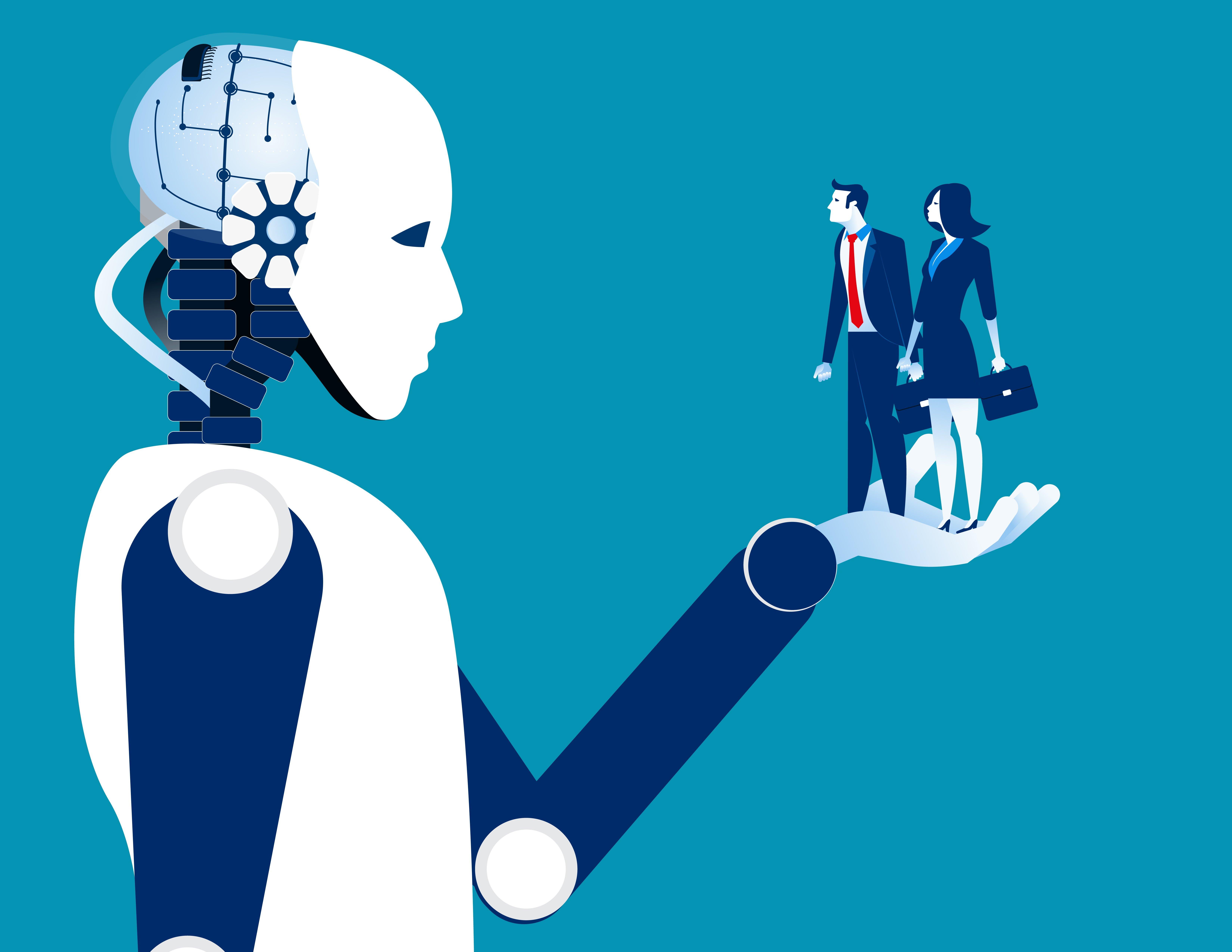 inteligență și vedere afectate